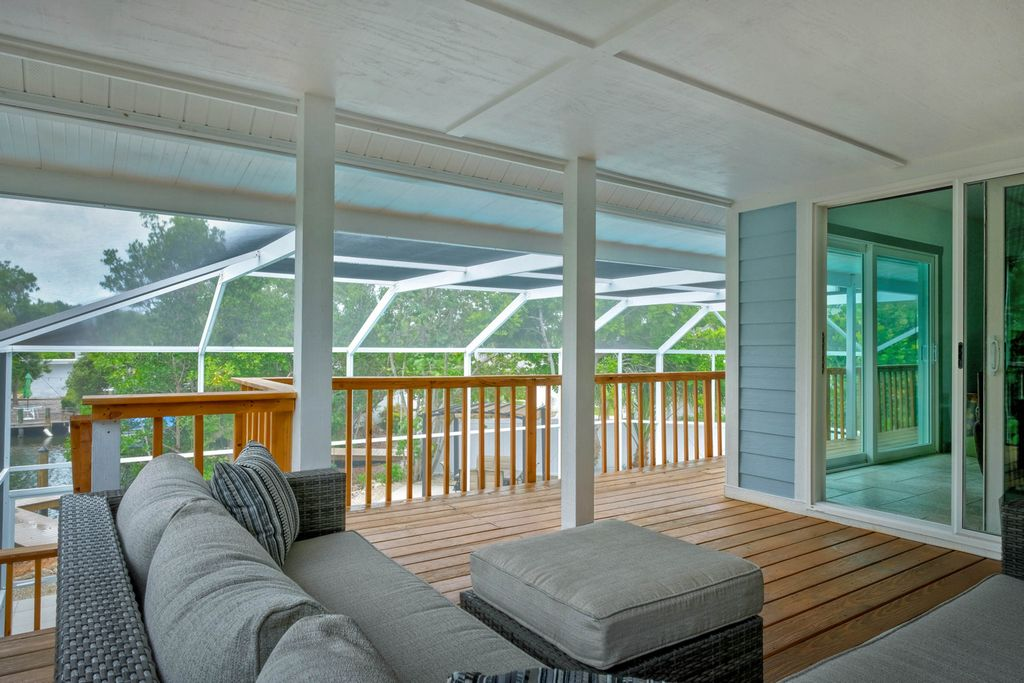 Screened-In and Overlooking the Pool