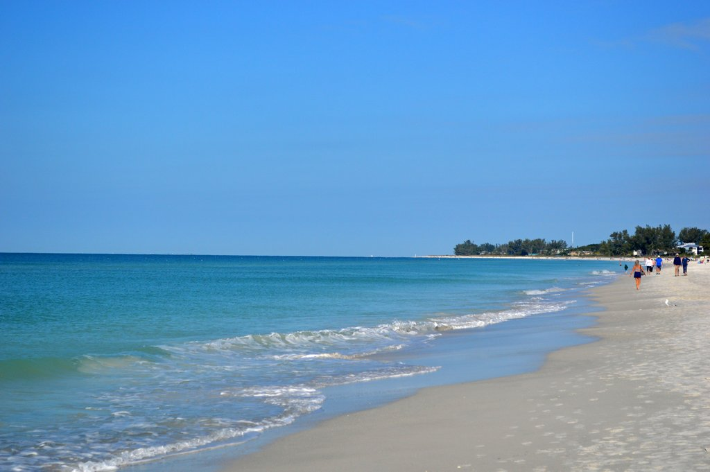 Sugar Sands and Crystal Blue Waters of Anna Maria Beaches