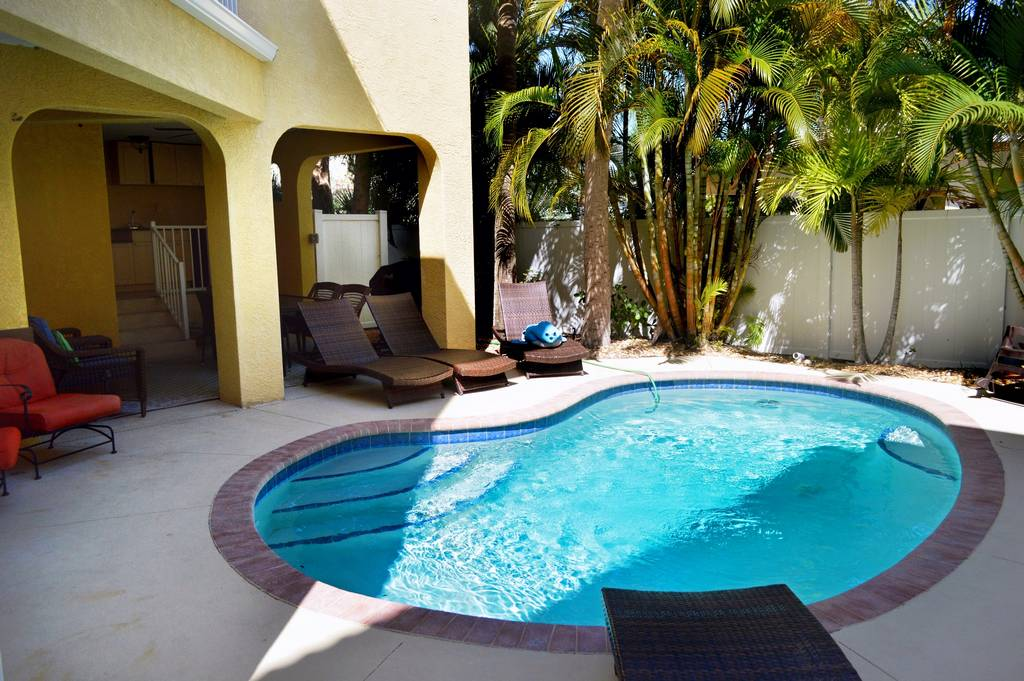 Retreat to Your Secluded Pool to Finish the Day.