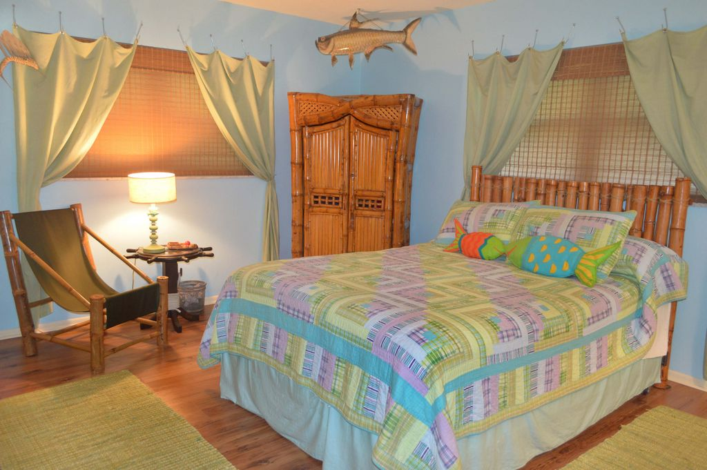 Master Bedroom with Polynesian allure