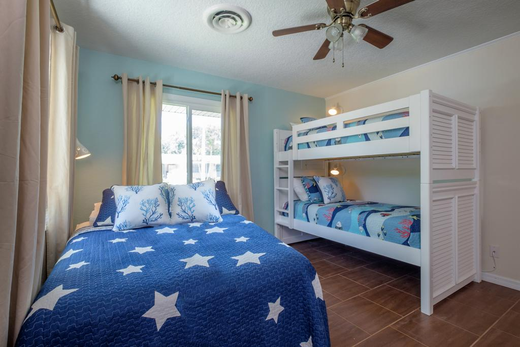 3rd Bedroom with Bunk Beds and Twin.