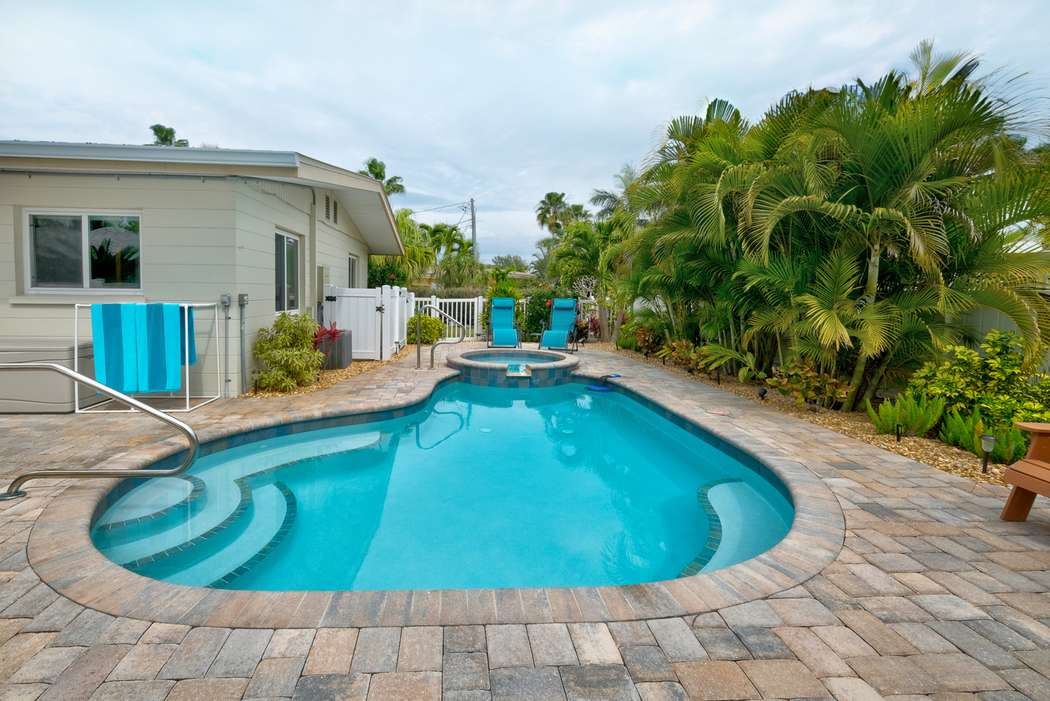 Relax by the Heated Pool or Soak in the Hot Tub