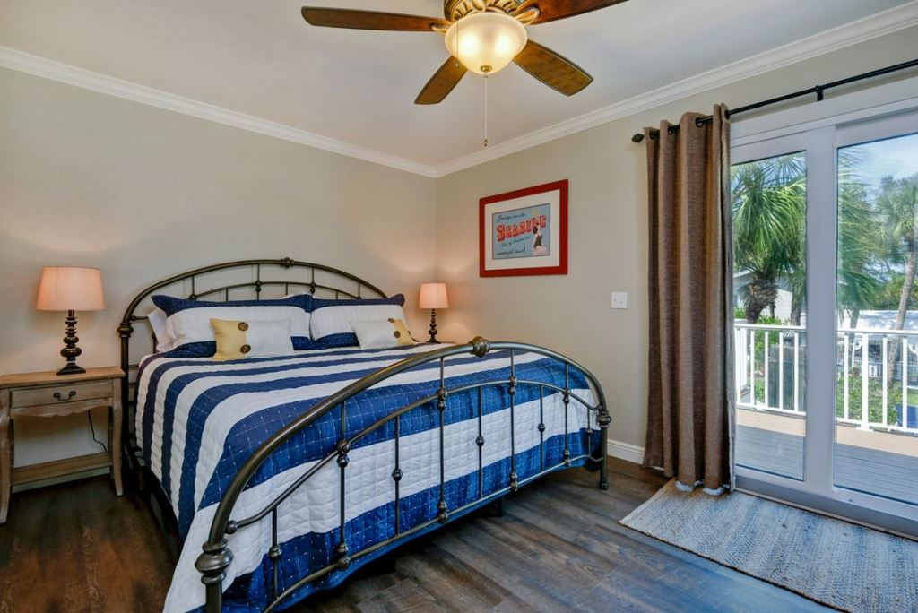Master Bedroom with Walk-Out Balcony