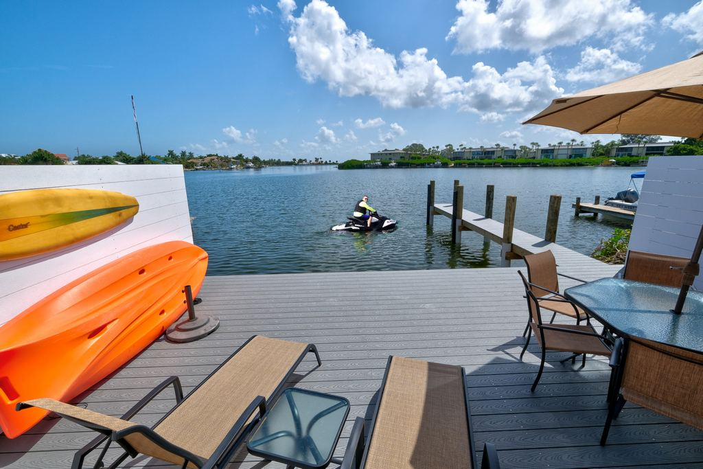 Jet Ski, Kayak or Fish From Your Deck