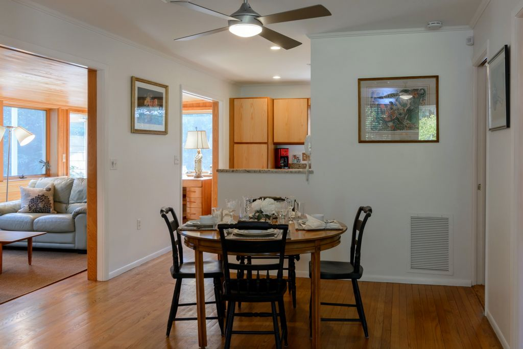 Dining Area is Spacious and Centrally Located