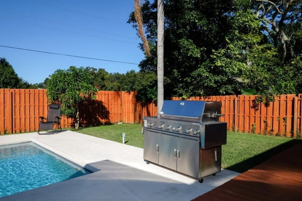 Grill Out by the Pool.