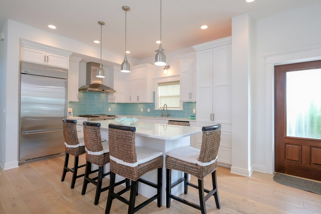 Open Floor Plan Flows from Dining to Kitchen