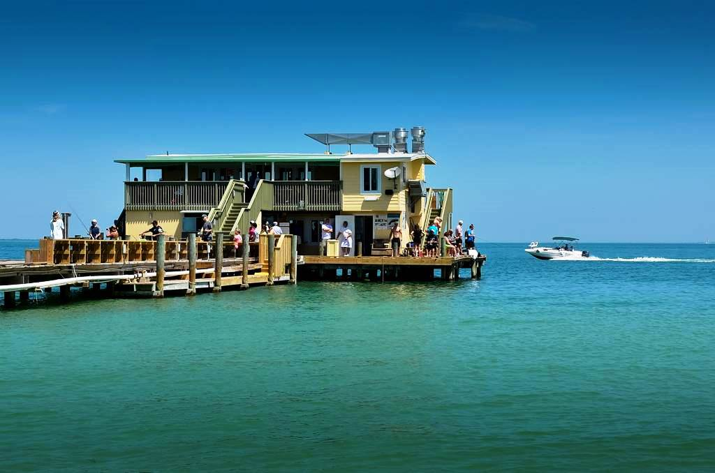 Fish or Dine at the Rod & Reel Pier Minutes Away
