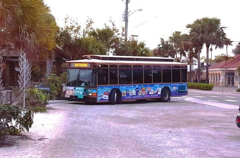 The Free Trolley is a Great Way to See the Island