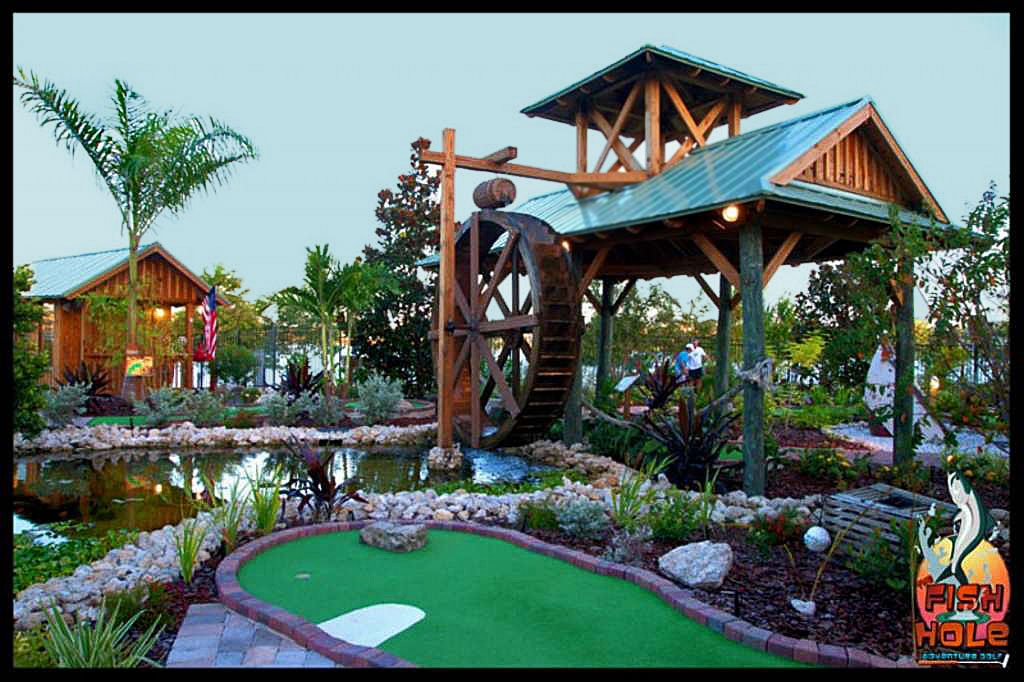 Try Your Hand At A Fun Game of Mini Golf