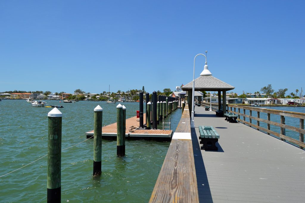Walk to the  Bridge Street Pier for Fishing, Dining and More
