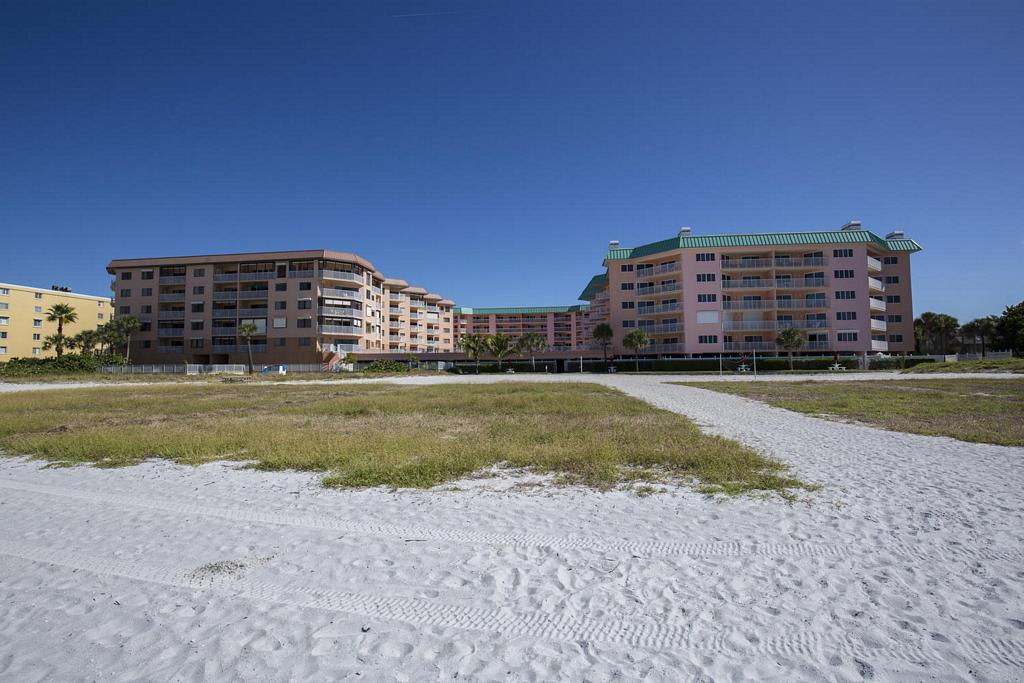 View of the Condo from the Shore