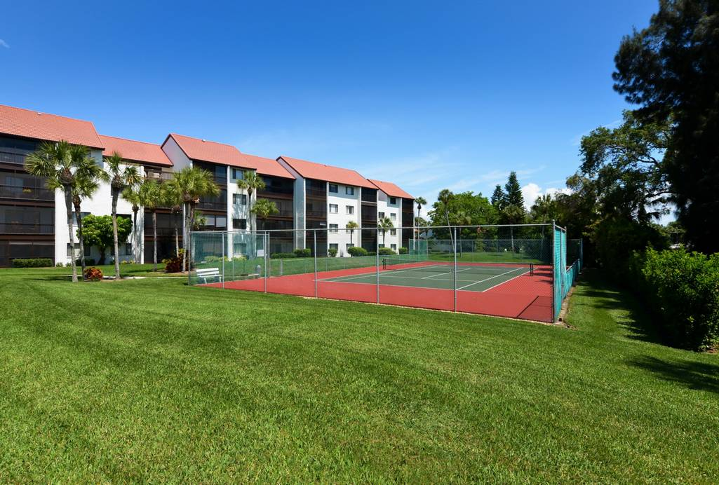 Play Tennis on the Community Courts