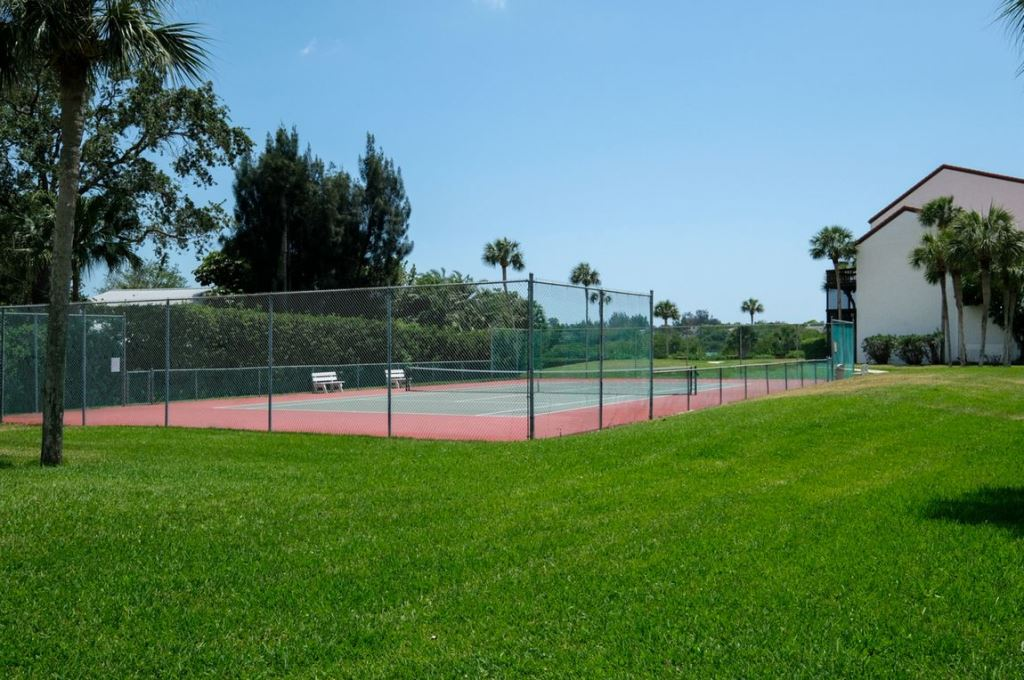 Play Tennis Right Out Your Door.