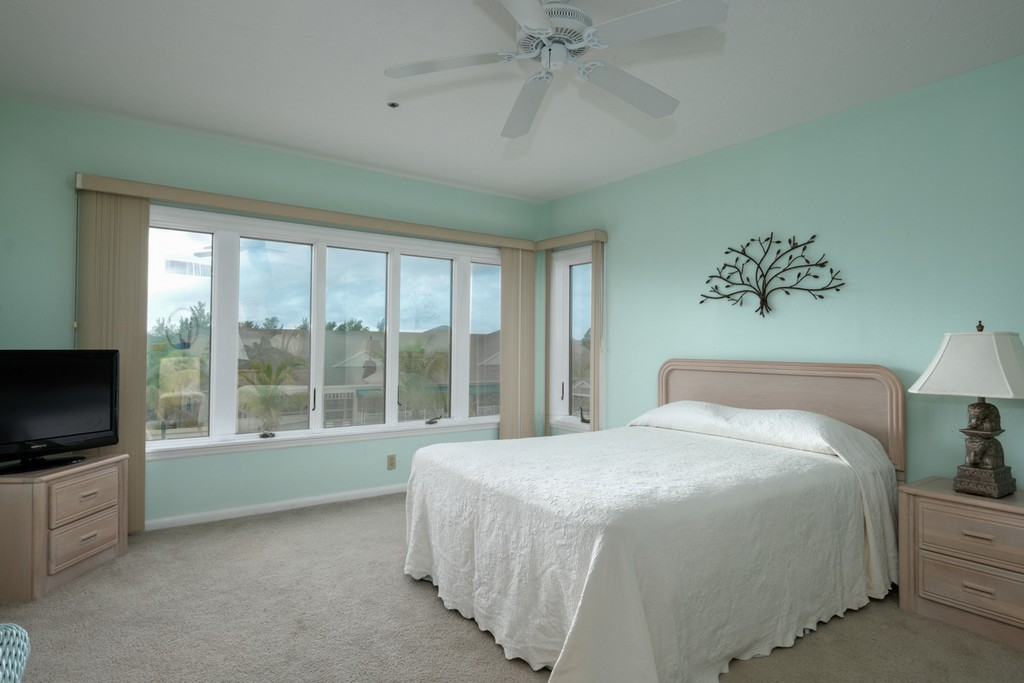 Large Bedroom with Beautiful Views and TV