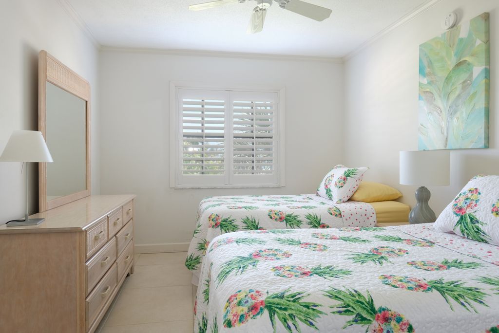 Third Bedroom with Twin beds and Walk-In Closet