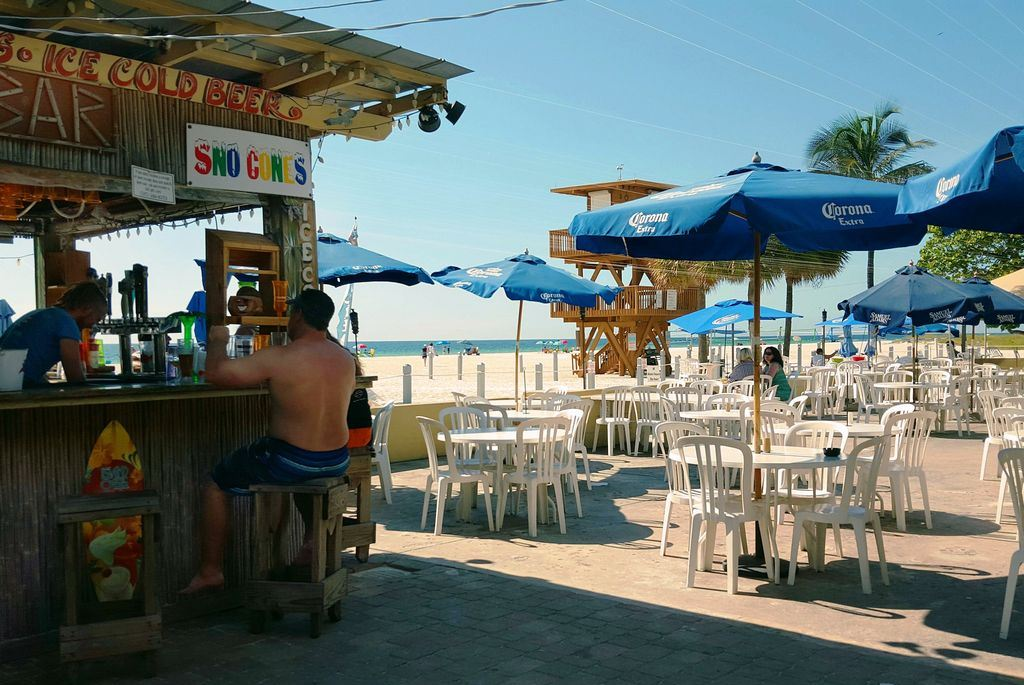 Stroll South For Live Music and Beach Food