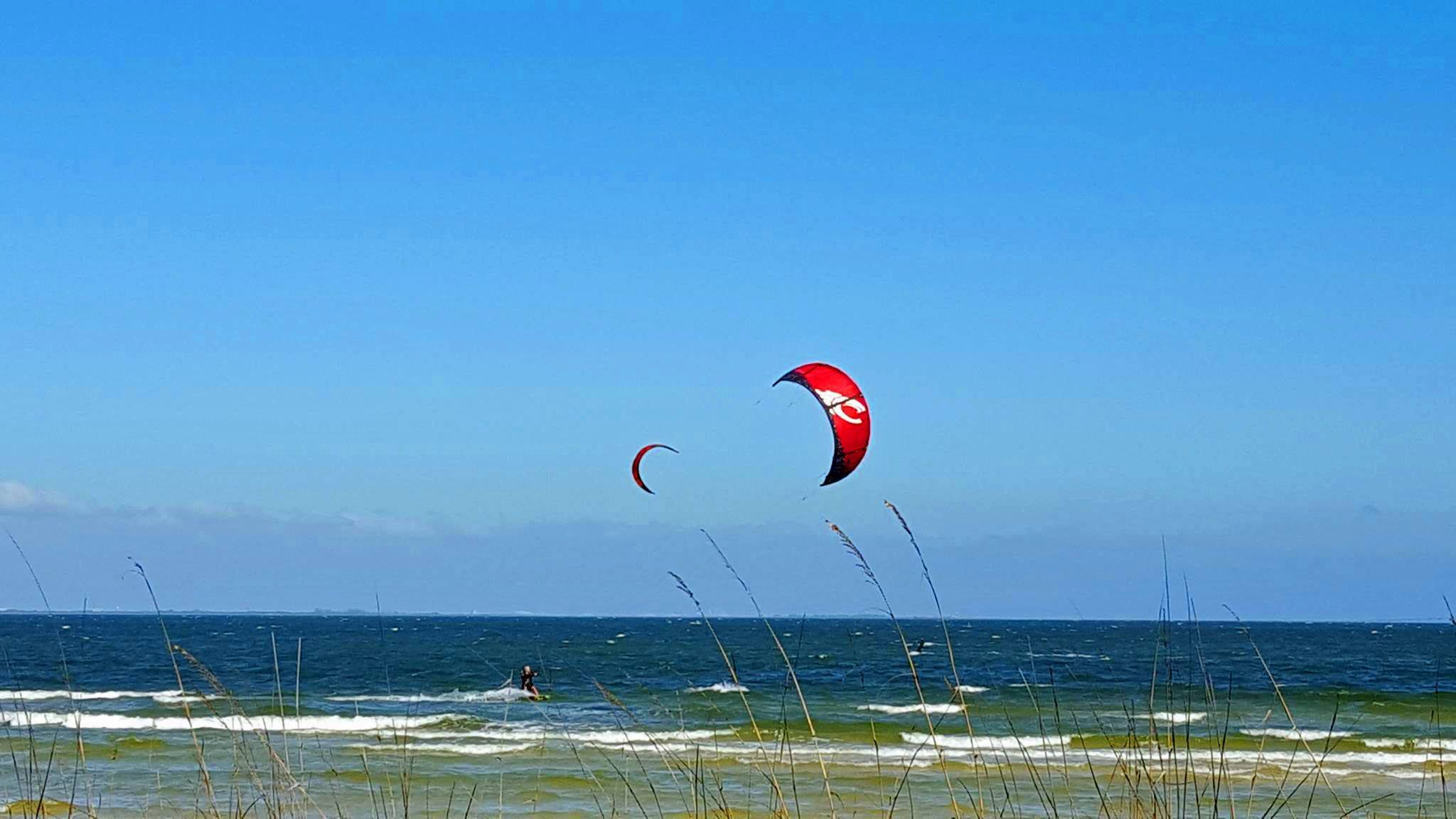 Set Yourself Free with Kiteboarding