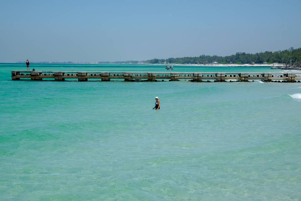 Crystal Blue Waters of the Gulf Beaches
