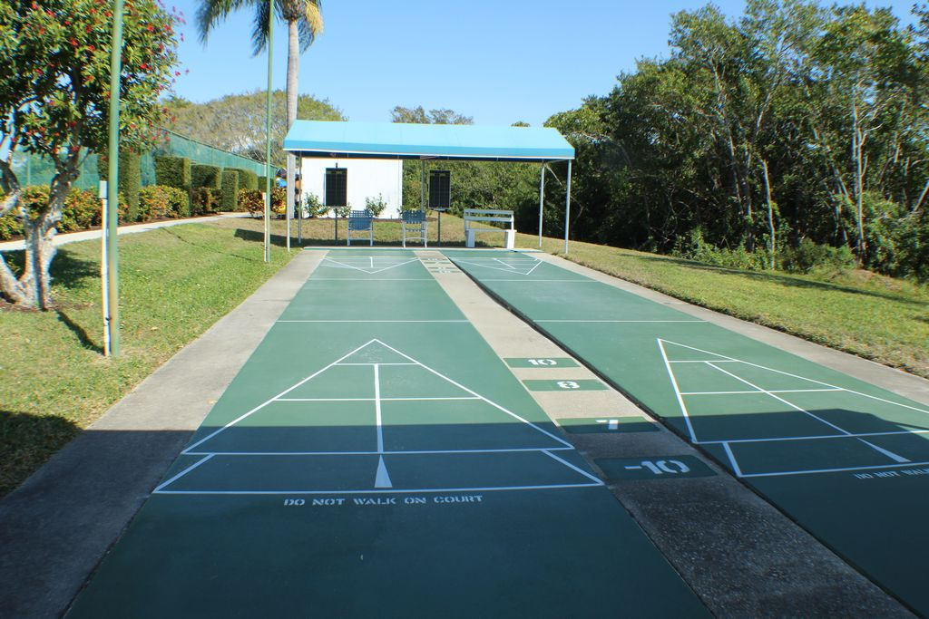 Play Shuffleboard with Friends