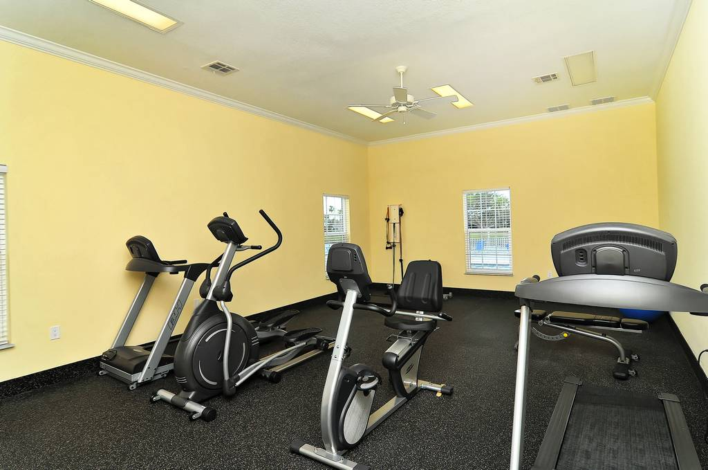Stay in Shape at the Clubhouse Exercise Room
