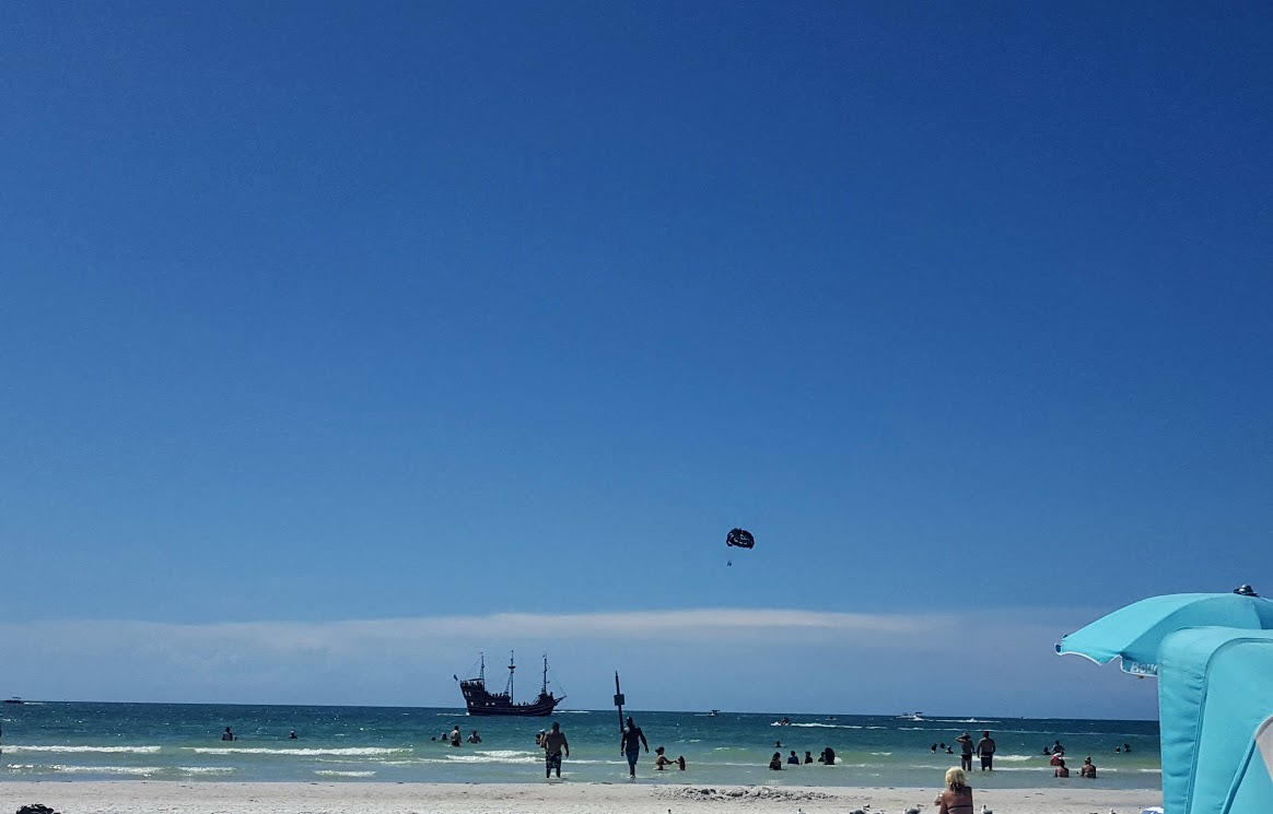 Parasail or Take a Pirate Ship Cruise on the Gulf