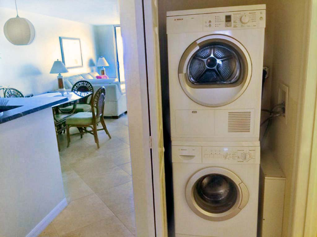 Laundry with High Efficiency Appliances