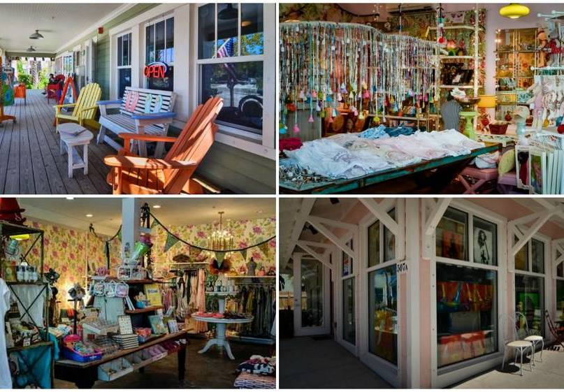 Shop at All of the Unique Resort Shops on Pine Ave