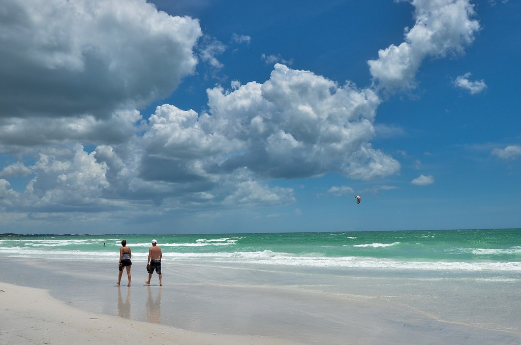 Enjoy the Silky Sands on the Famous Siesta Key Beaches.