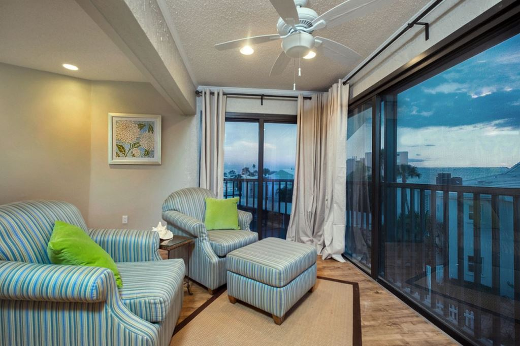 Florida Room with Gulf View