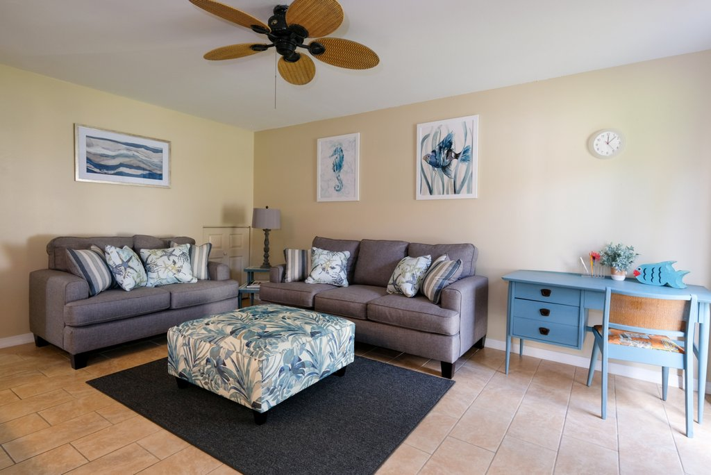 Comfortable Seating with Updated Coastal Furnishings