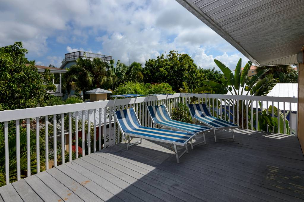 Sun Deck Outside of Master Bedroom