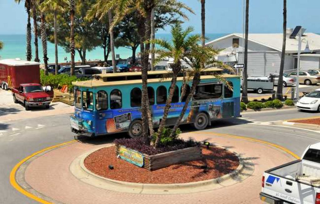 Catch the Free Trolley to Explore the Island